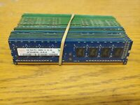Lot of (21) 2GB Desktop Memory DDR2 DDR3 Mixed Brands 21x2GB UNTESTED