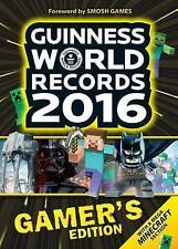 Guinness World Records Gamer's Edition 2016 by Guinness World Records (Paperback