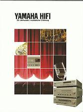 Yamaha HiFi Katalog Prospekt CX1000 MX1000 MX830 CX830 MX630 KX1200 TX1000