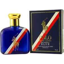Polo Red White & Blue EDT Spray 2.5 OZ. Ralph Lauren Men's Cologne Fragrance NIB