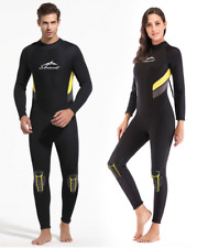 Women Men 3mm Neoprene Scuba Snorkeling Warm Wetsuits Free Surf Long Dive Suits