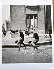 Robert Doisneau The Two Brothers - 2 Boys Walking On their Hands 13x10 Unsigned