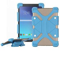 Silicone Universel Tablette Pliant Etuis pour 7 à 8 pouce Tablettes – Bleu