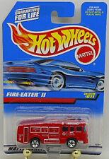 HOT WHEELS  BLUE CARD SERIES FIRE EATER II #611 RED FIRE TRUCK 1997