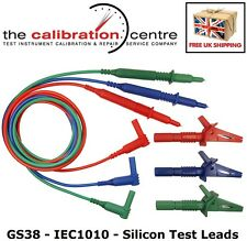 SAME DAY DESPATCH - FLUKE 1654B REPLACEMENT UNFUSED TEST LEADS