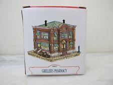 Americana Collection 1993 Liberty Falls Series Ah27 Greller'S Pharmacy New N Box