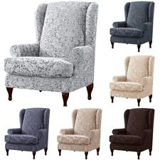 Wing Back Chair Cover Recliner Armchair Sofa Settee Covers Slipcover Protector