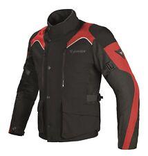 Dainese Tempest D-Dry Jacke - Motorradjacke - Schwarz / Rot BLACK/BLACK/RED 58