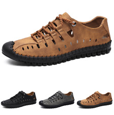 Mens Size Plus Outdoor Wade Walking Sandals Shoes Soft Breathable Lace up D