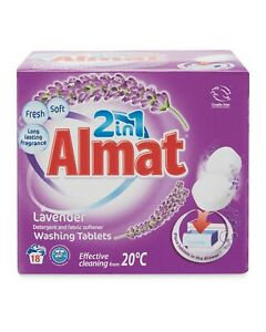 Almat 36 2-in-1 Washing Tablets Laundry Clothes Washing Capsules Lavender