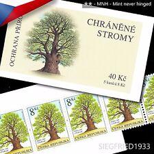 Czech Republic (2004) -- Žižka's Oak Tree -- stamp booklet, MNH**