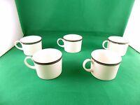 Wedgwood Perfection Tea Cups x 5
