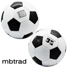 Official Size 5 Soccer Ball Unisex Training Balls Football Lots 1-12 pcs Black