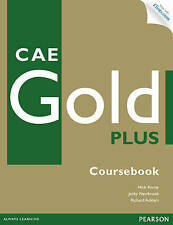 CAE GOLD PLUS Coursebook with CD-ROM & Online iTests Access Code NEW