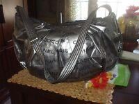chanel 31 rue cambon paris bag. authentic chanel silver metallic coco 31 rue cambon shoulder bag purse handbag paris