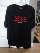 RARE 1999 MANIC STREET PREACHERS XL T-SHIRT!