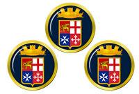 Italien Marine (Marina Militare) Marqueurs de Balles de Golf