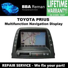 Toyota Prius Navigation Display MFD Unit Repair Service