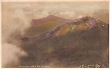 BEN NEVIS SCOTLAND VIEW FROM SUMMIT MAC DOUGALL POSTCARD