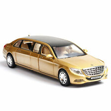 Benz Maybach S650 Limousine V12 1:32 Model Car Diecast Gift Toy Vehicle Gold Kid