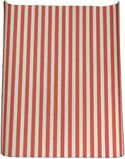 "NEW Red Striped Grease proof Paper Sheets Burger Wrap 10"" x 12.5"" Good Quality"