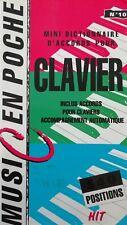 Mini Dictionnaire Accords Pour Clavier Music En Poche n°10