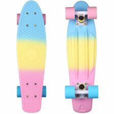 22 Cruiser Skateboard Penny Style Board Graphic Fade Free Shipping