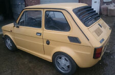 Fiat 126 AIRCOOLED CUSTOM MADE METAL REAR WINDOW LOUVERS
