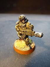WARHAMMER 40k Guardia Imperiale Cadian FANTERIA CON melta GUN-dipinto
