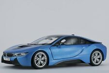 Paragon BMW i8 (i12) Protonic Blue Model Diecast Car 1/18 New in Box