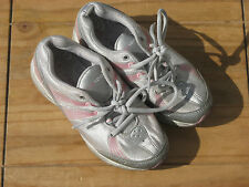 Next Sport Silver & Pink Trainers size 13 UK
