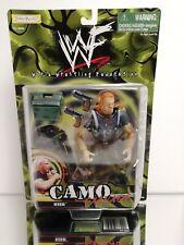 1999 Jakks Pacific / WWF Camo Carnage HHH Action Figure - w/ Accessories New