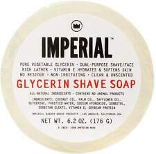 Glycerin Puck Shave/Face Soap, Imperial Barber, 6.2 oz