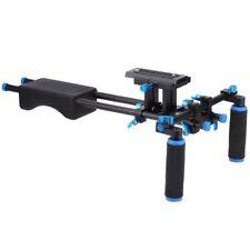 DSLR Rig Camera Bracket Handheld Video Shoulder Support 15mm Rod Clamp Stand