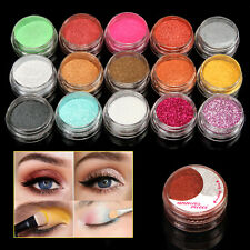 15 Color/SET Long Lasting Shimmer Pearl Loose Eyeshadow Powder Eye Shadow Makeup