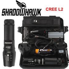 Original 20000lm Shadowhawk X800 Tactical Flashlight LED Military Torch G700