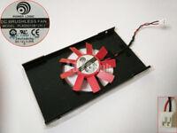 AMD Firepro W2100 video card Fan PLA05010B12M-2 DC 12V 0.2A 2-Pin