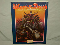 Warhammer Fantasy Roleplay - DOOMSTONES VOL II: WARS AND DEATH (RARE and EXC+!!)