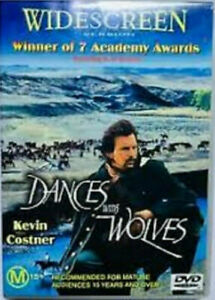 DANCES WITH WOLVES - KEVIN COSTNER - MARY McCONNELL-  WIDESCREEN