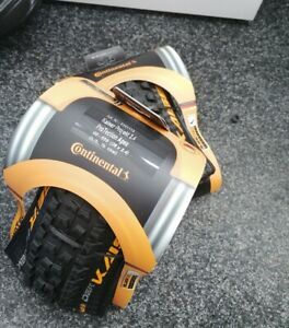 "2 X CONTINENTAL DER KAISER PROJEKT 26"" x 2.4 ProTection Apex MTB Tyre RRP£120"