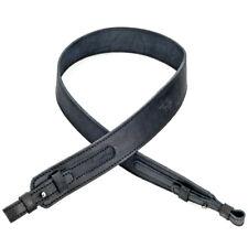 Genuine Leather Real Gun Sling Shotgun Shoulder Strap Shooting Hunting Rifle New