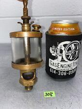 American Lubricator Co 3 Brass Oiler Hit Miss Gas Engine Vintage Antique Steam