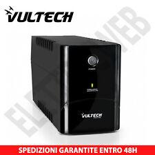 VULTECH UPS700VA-PRO GRUPPO DI CONTINUITÀ UPS 700VA X PC Bipasso Schuko IEC13