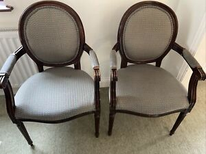 FRENCH LOUIS STYLE REPRODUCTION CARVER CHAIRS