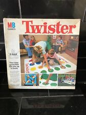 TWISTER Milton Bradley 1977 Action Game Vintage