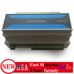 USA Network Repeater 8 Channel TCP Relay Module Ethernet to RS485 Remote Control