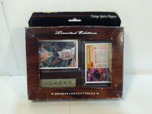 Vintage Sports Plaques Michael Jordon Collectible Card Plaque hd2530