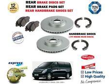 Für Hyundai i800 2.5 Crdi 2008- > Bremsscheiben Set Hinten+Beläge+ Hand Schuhe