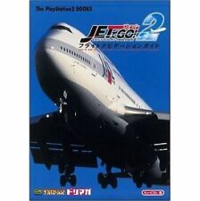 JET DE GO 2 Flight Navigation Guide PS2 Book SB82*