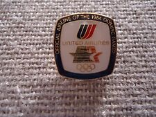 United Airlines Los Angeles Olympic Games Sponsor Pin
